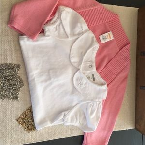 Gymboree pink shrug